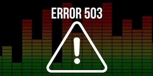 Помилка 503 – що означає і як виправити її