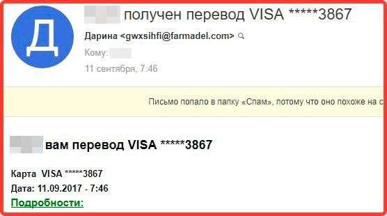 На пошту приходять листи про переведення грошей – що це? Як поступати?