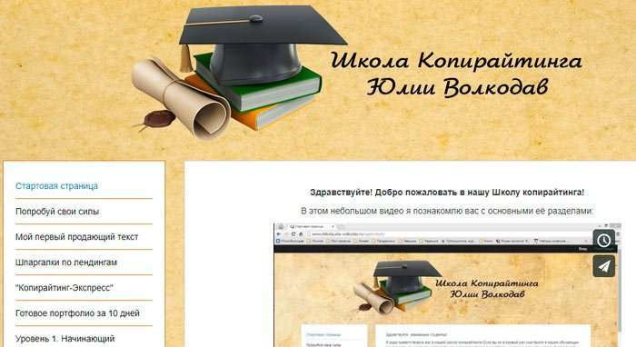 Школа копірайтингу Юлії Вовкодав
