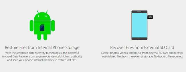 Як відновити вилучені фото на Андроїді