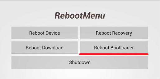 To Reboot Bootloader – що це таке Android