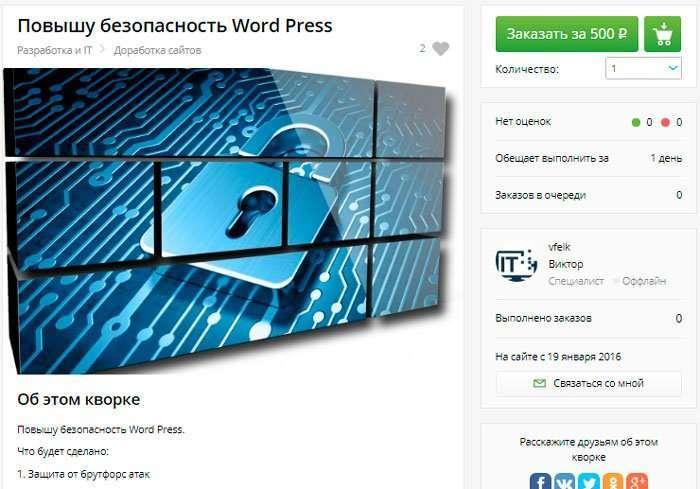 Kwork прискорює, захищає і SEO оптимізує сайти!